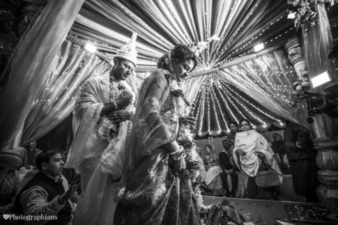 Indian wedding photography by Photographians